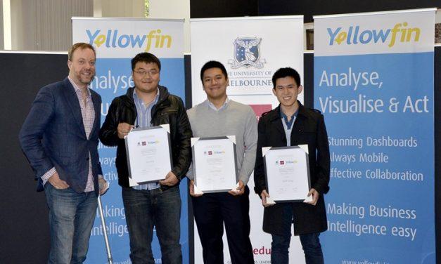 Inaugural Yellowfin – La Trobe Business Analytics Challenge Award Presented At 2016 Symposium