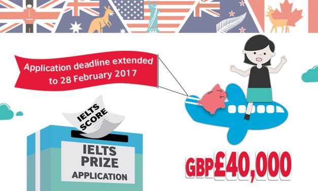 British Council IELTS Prize 2016/17 Application Timeline Extended