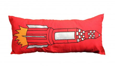 Red Rocket Cushions Shake Up Soft Furnishings