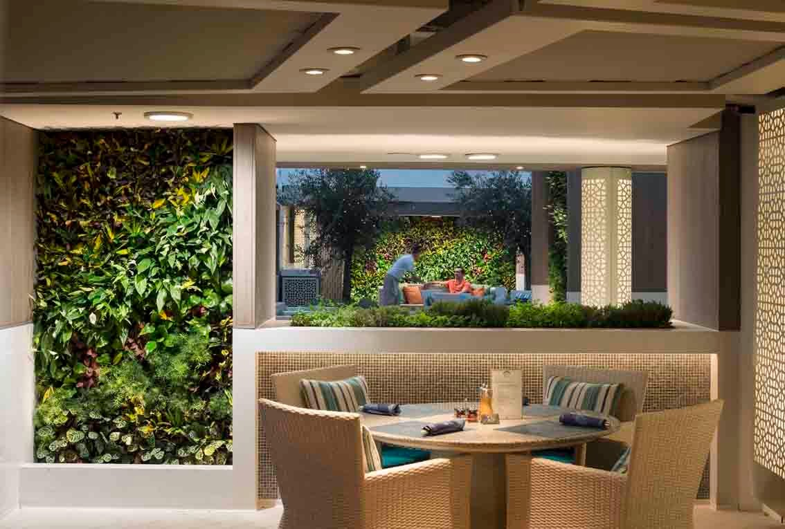 ANS Group Europe Adds Living Walls to Crystal Serenity Makeover