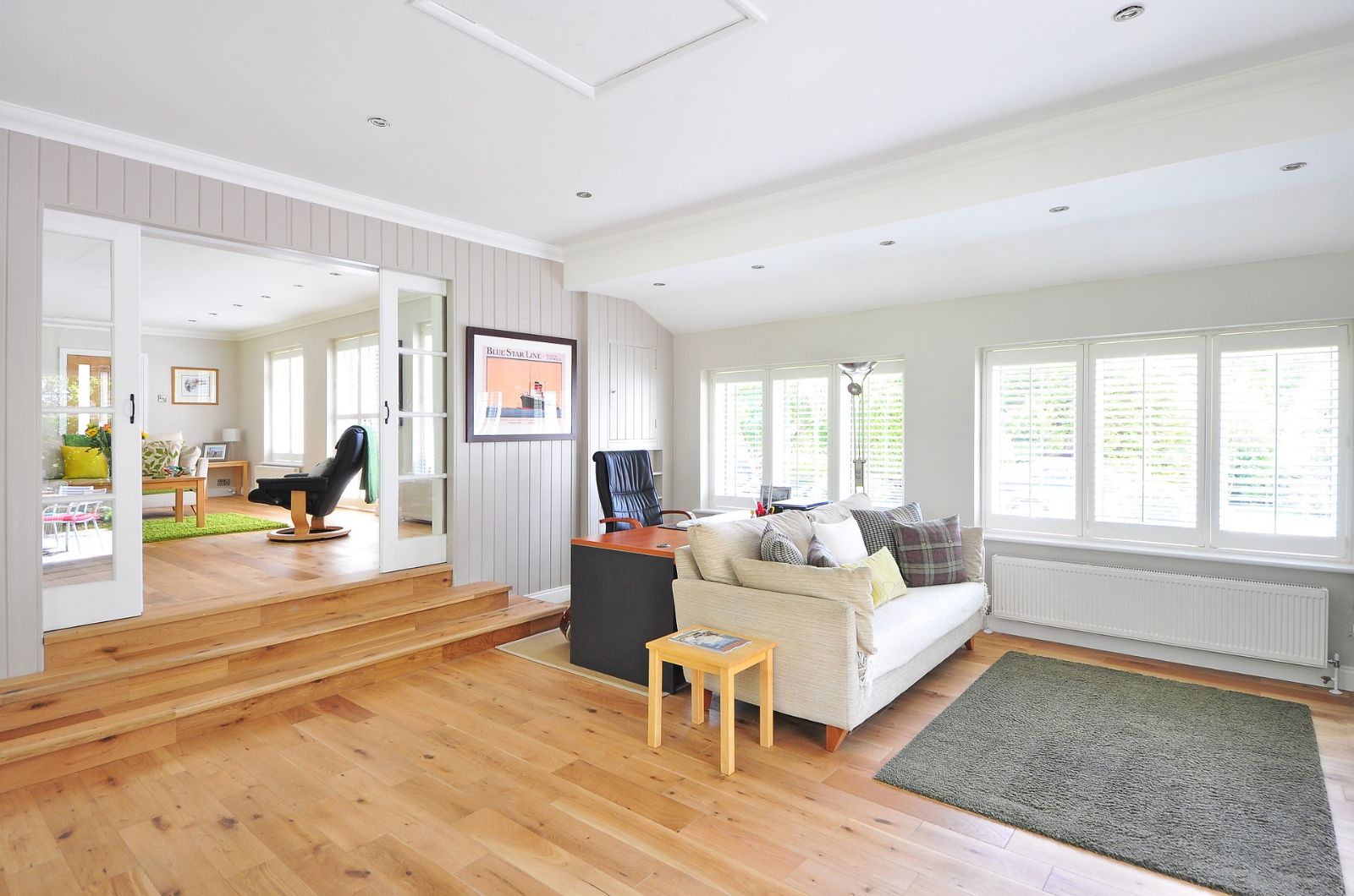 The Wooden Floor Trend Continues