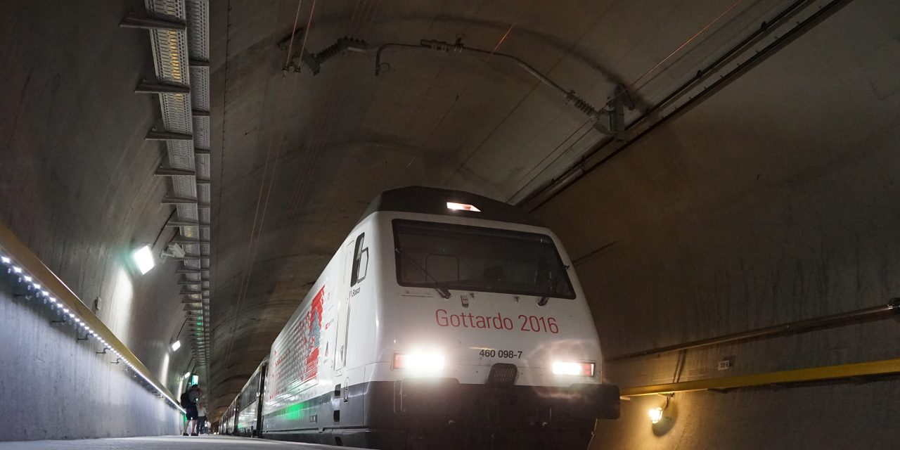 Switzerland Opens The Longest Train Tunnel In The World